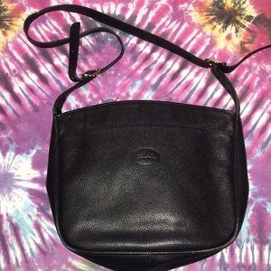 Vintage Longchamp Leather Shoulder/Crossbody Bag